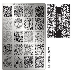 MOYRA STAMPING PLATE SERIES